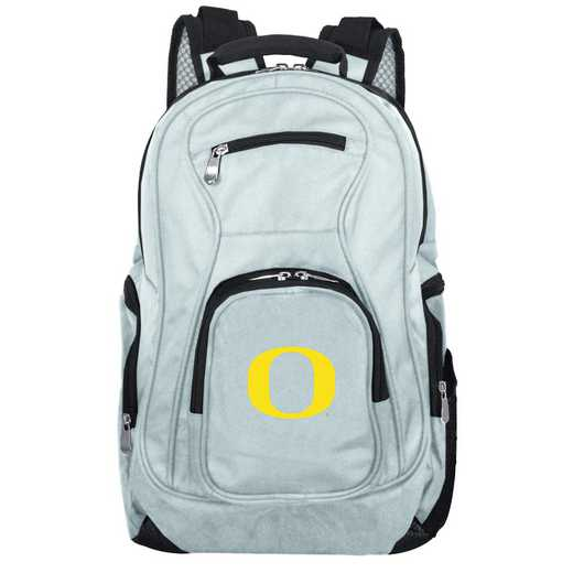 CLODL704-GRAY: NCAA Oregon Ducks Backpack Laptop